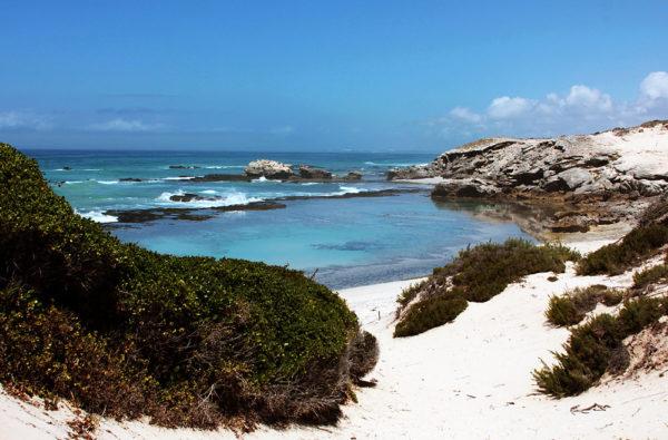 Coast line of De Hoop Nature reserve