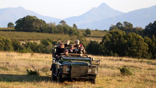 Gondwana Lodge Game Drive