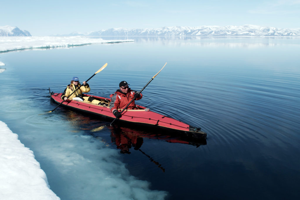 CM Travels | Canada | Kayaking at floe edge